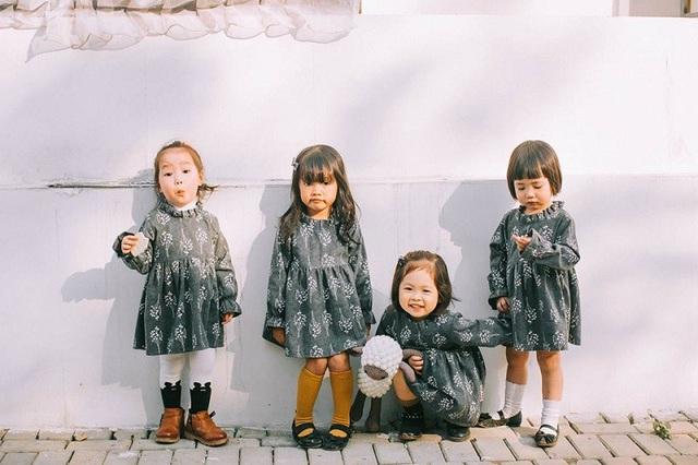 Bộ ảnh ngộ nghĩnh của 4 bé gái có mẹ là bạn thân - 13