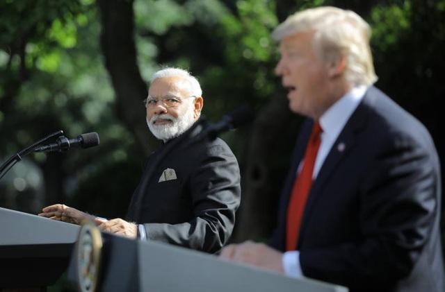 Trước đó, một nhà thầu cũng xác nhận Mỹ đã dọn đường cho hợp đồng 2 tỷ USD cung cấp máy bay không người lái Predator cho phía Ấn Độ. (Ảnh: Reuters)