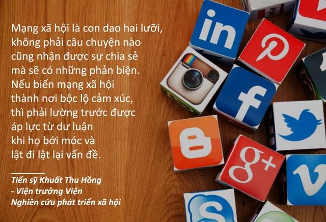 Xem thêm: Người nổi tiếng biến mạng xã hội thành công cụ đấu tranh: lợi bất cập hại?