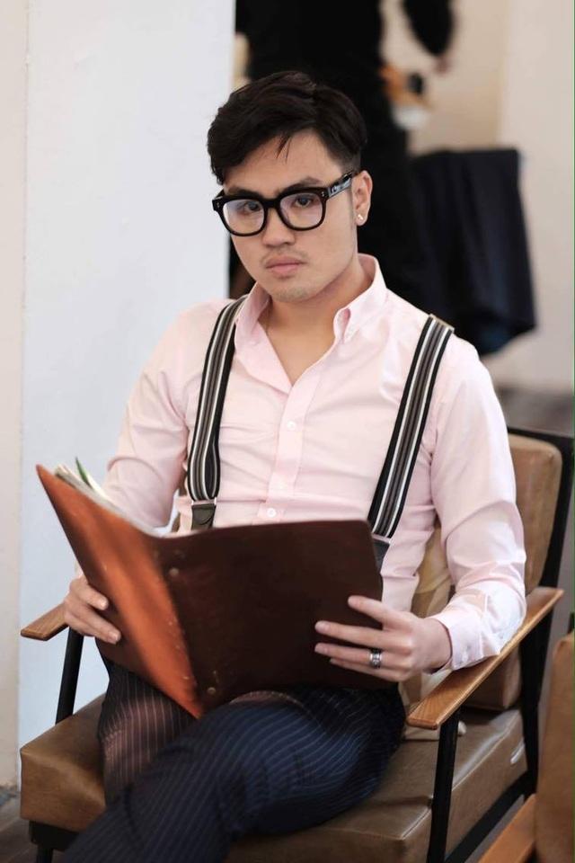 Anh Nguyễn Hồng Quân, người đã tặng cậu sinh viên nghèo chiếc balô mới và viết câu chuyện này.