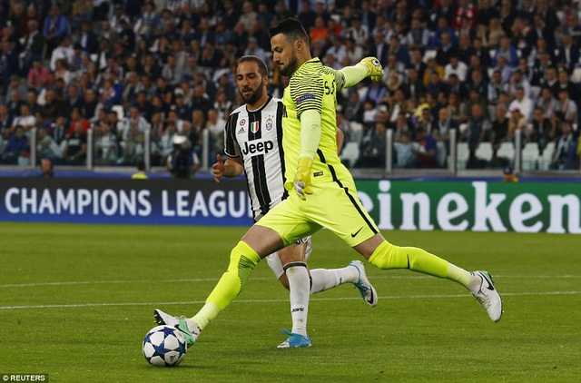 Higuain và đồng đội đã sẵn sàng cho trận chung kết Champions League