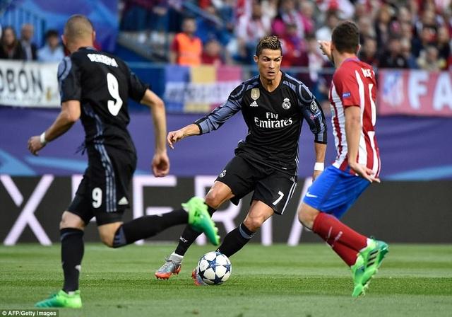 C.Ronaldo đã không thể lập hattrick như ở lượt đi