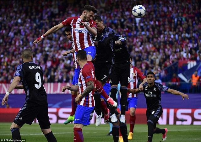 Saul Niguez mở tỷ số cho Atletico từ khá sớm