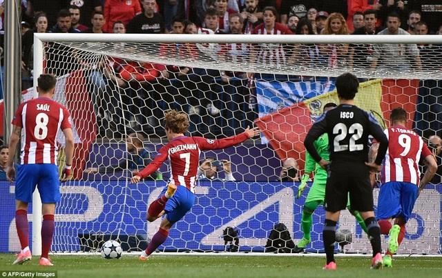 Atletico đã làm tất cả những gì có thể tại Vicente Calderon