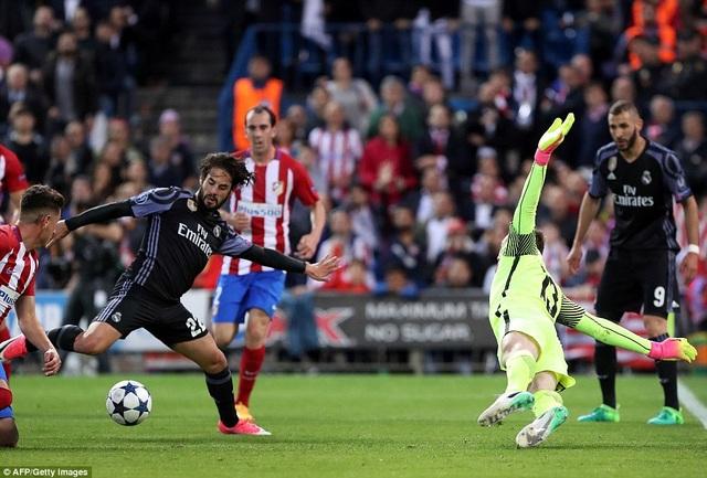 Bàn thắng của Isco đã khiến thế trận thay đổi, Real Madrid tiến vào chung kết Champions League