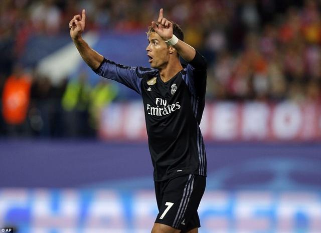 C.Ronaldo không để lại một dấu ấn nào trên sân