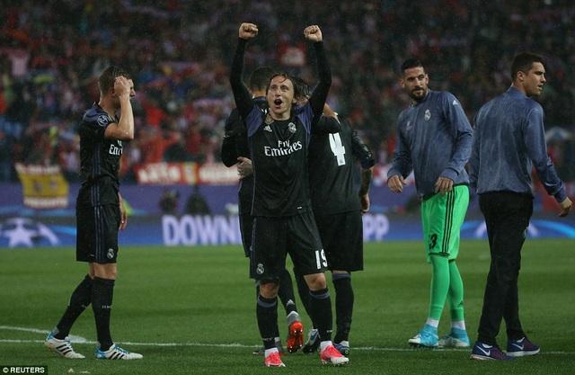Với lợi thế thắng 3-0 ở lượt đi, Real Madrid nhập cuộc khá tự tin