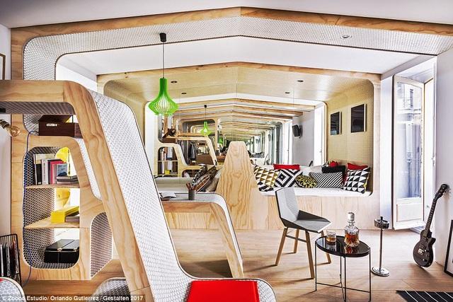 Những ngôi nhà nhỏ thực tế lại là đề bài rất thú vị cho ý tưởng thiết kế nội thất sáng tạo.