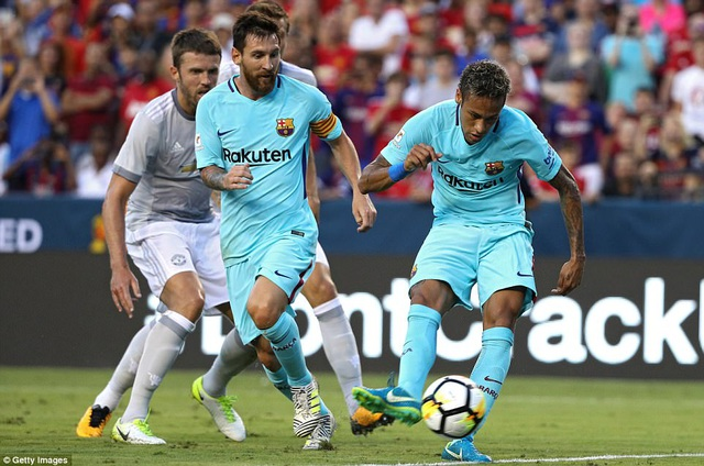 Messi và Neymar vẫn là những cầu thủ chơi nổi bật nhất trên sân