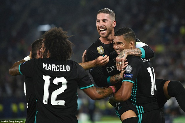 Real Madrid đã chơi áp đảo và đầy sắc nét trong tấn công
