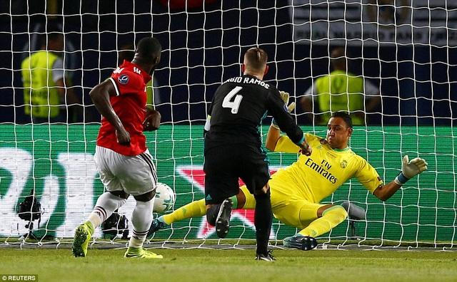 Lukaku đã bỏ lỡ quá nhiều cơ hội ở trận đấu này