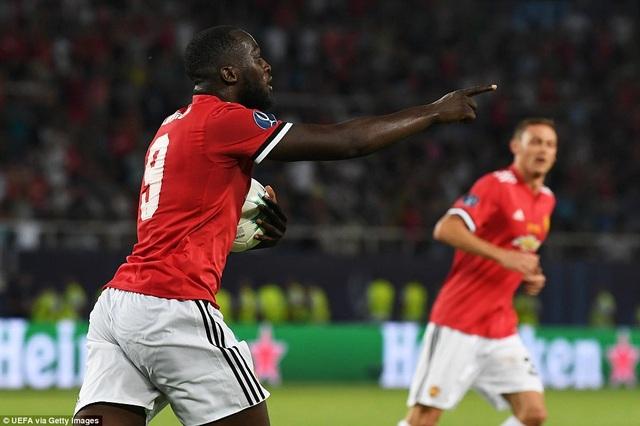 Lukaku ghi bàn danh dự cho MU ở phút 62