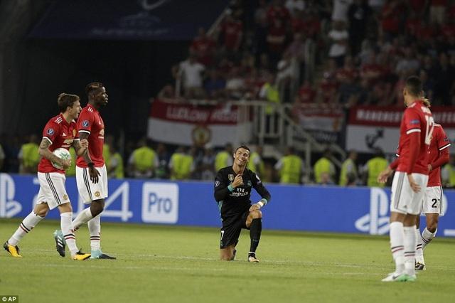 C.Ronaldo chỉ vào sân ở 7 phút cuối, nhưng Real Madrid vẫn chiến thắng