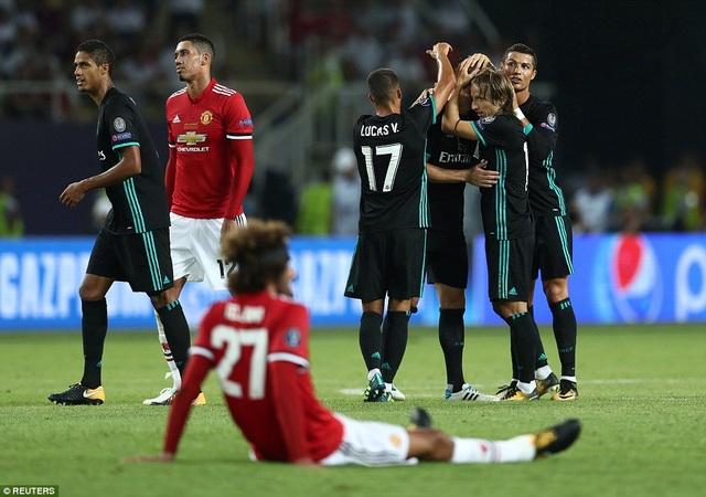 Real Madrid đã áp đảo toàn diện MU tại Macedonia