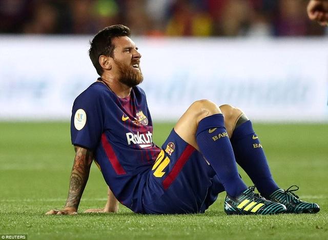 Nỗi thất vọng của Lionel Messi