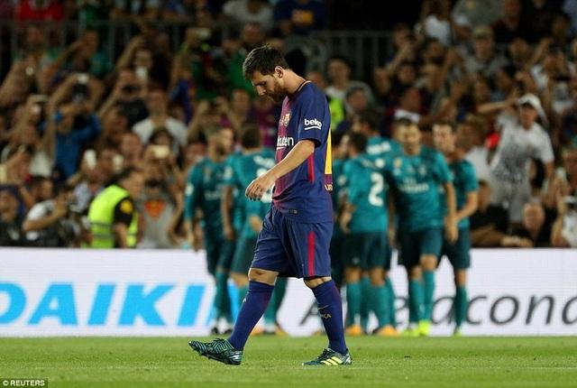 Niềm vui của Real Madrid và nỗi buồn của Messi