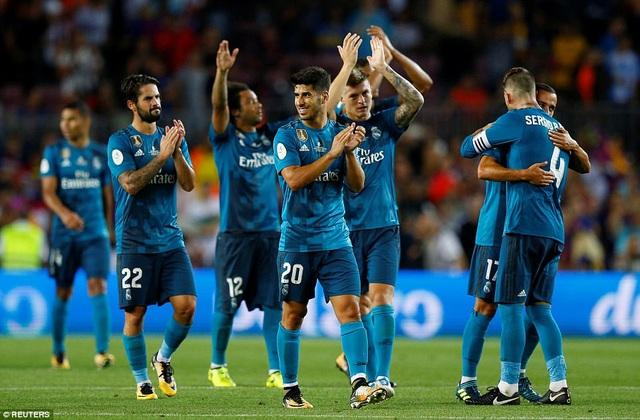 Real Madrid tiếp mạch thăng hoa sau chiến thắng ở Siêu Cup châu Âu
