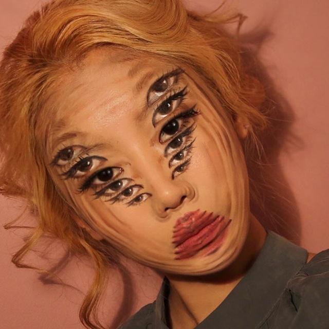"""""""Hoa mắt chóng mặt"""" xem chuyên gia trang điểm biến hình - 2"""