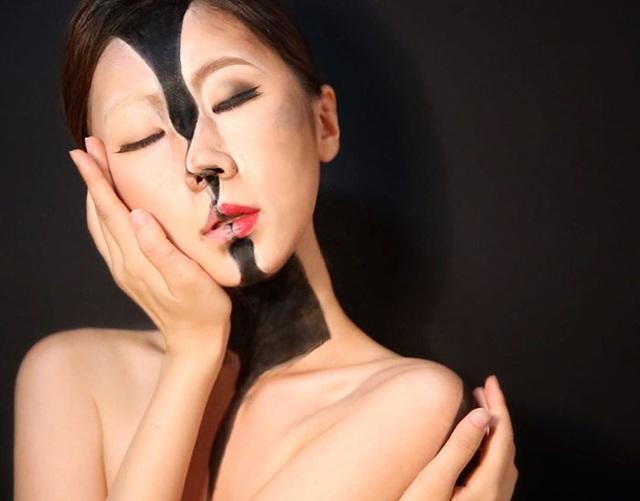 """""""Hoa mắt chóng mặt"""" xem chuyên gia trang điểm biến hình - 3"""