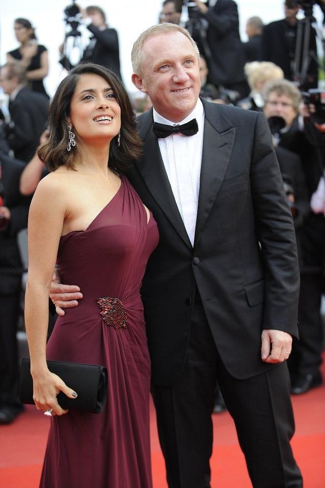 Nữ diễn viên Salma Hayek và doanh nhân người Pháp François-Henri Pinault