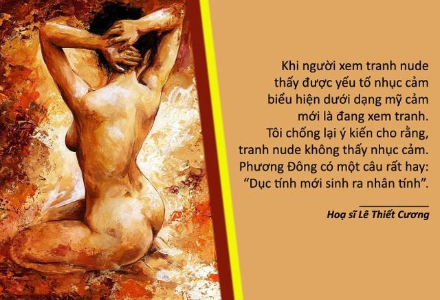 Xem thêm: Tranh nude của các nữ hoạ sỹ Việt vẽ thường rất đắt và hiếm?