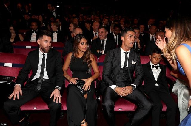 Lần thứ hai liên tiếp, Messi về thứ hai sau C.Ronaldo