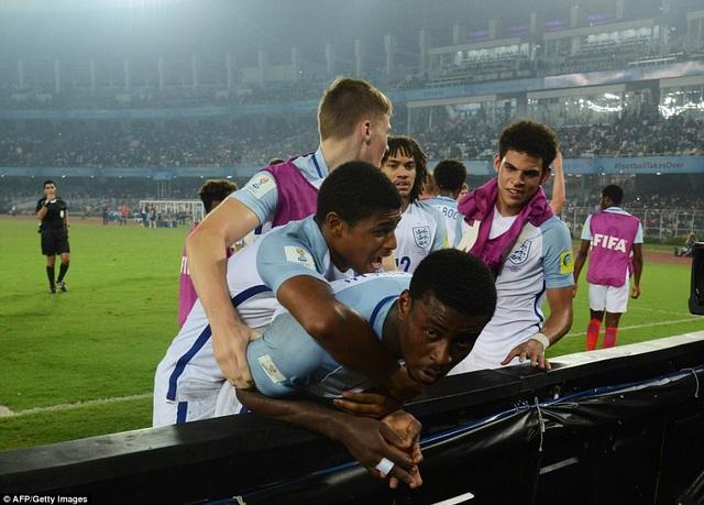 U17 Anh thể hiện phong độ vượt trội và ấn tượng ở U17 World Cup 2017