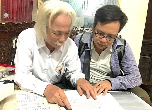 Ông Nam trình bày sự việc với PV.