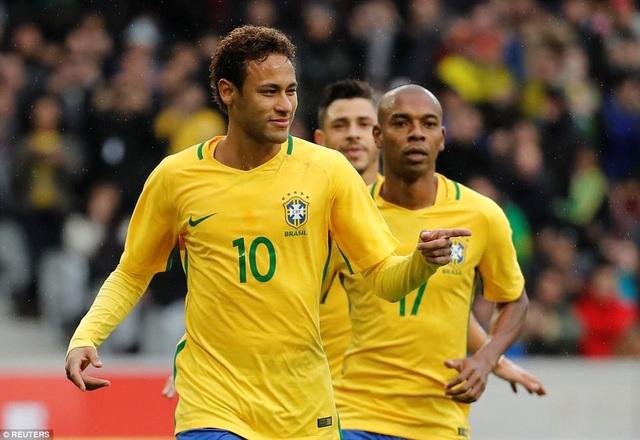 Neymar tiếp tục cho thấy sự ổn định khi trở về thi đấu cho đội tuyển Brazil