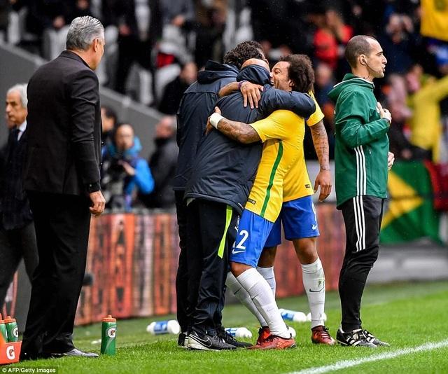 Đây là trận đấu Brazil cho thấy sự áp đảo hoàn toàn về thế trận