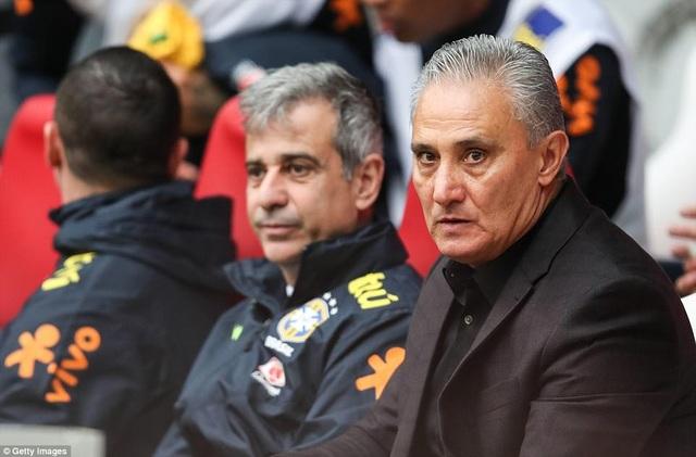 HLV Tite có lý do để hài lòng với các cầu thủ Brazil