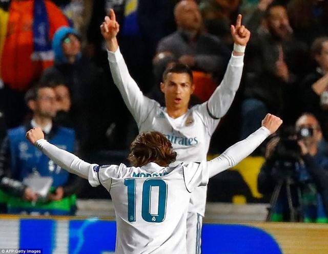 C.Ronaldo đạt cột mốc 100 bàn thắng tại Champions League