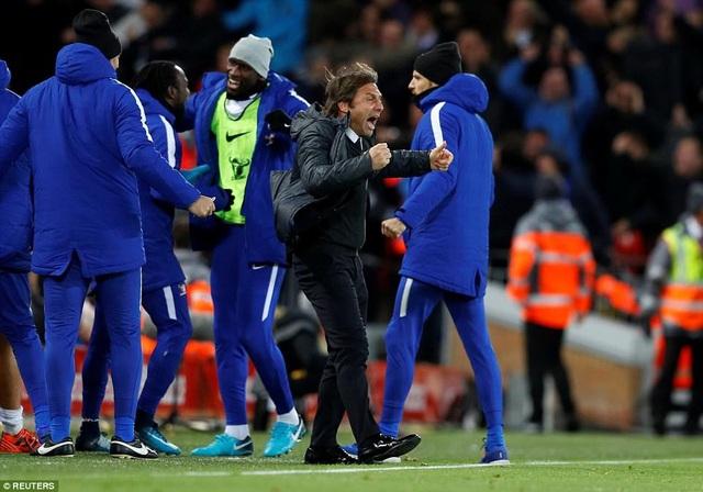 Conte hạnh phúc khi cầm hòa được Liverpool