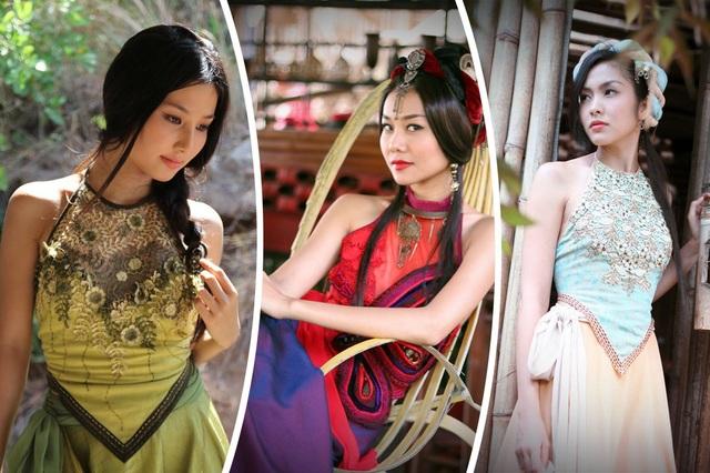 Tạo hình của các nữ diễn viên trong phim cổ trang Việt Nam - Mỹ nhân kế (2013)