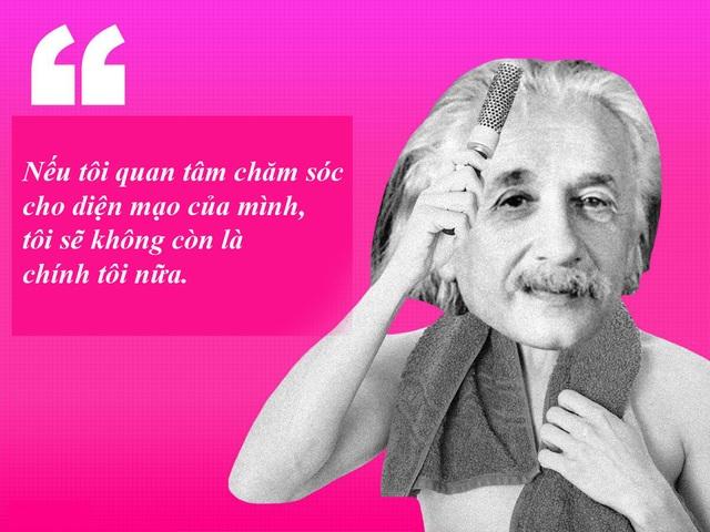 "20 câu nói ""bất hủ"" của thiên tài Albert Einstein - 5"