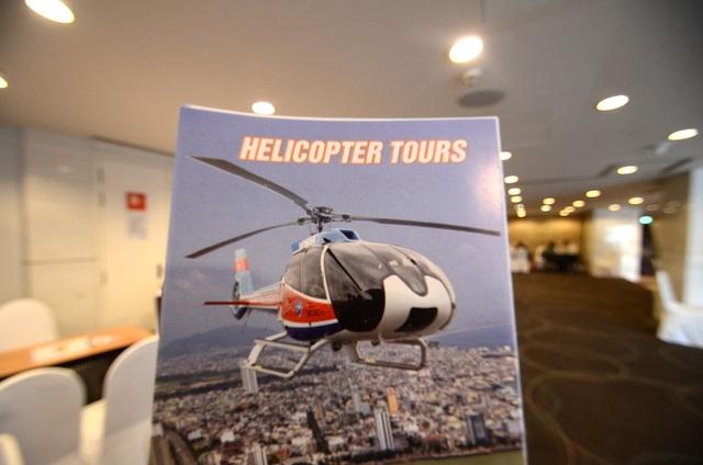Du lịch trực thăng, một trong những sản phẩm có số lượng còn hạn chế ở nhiều điểm đến của Việt Nam.