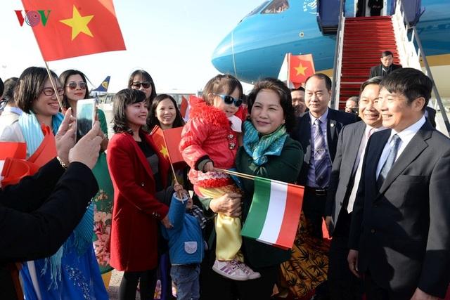 Kiều bào chào đón Chủ tịch Quốc hội Nguyễn Thị Kim Ngân thăm Hungary - 5