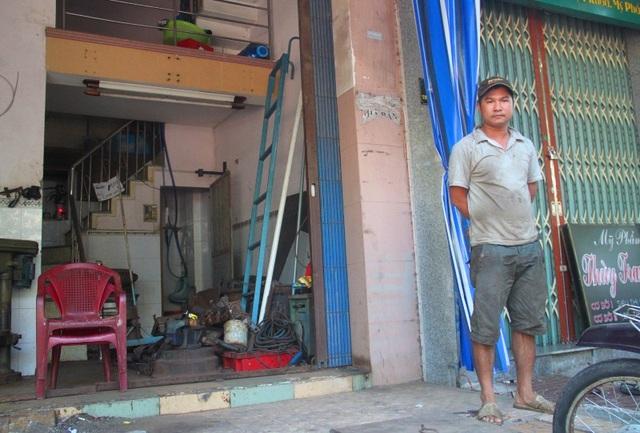 Nhiều ngôi nhà trên đường Trần Hưng Đạo diện tích chưa được 20m2 sẽ khó khăn hơn trong sinh hoạt