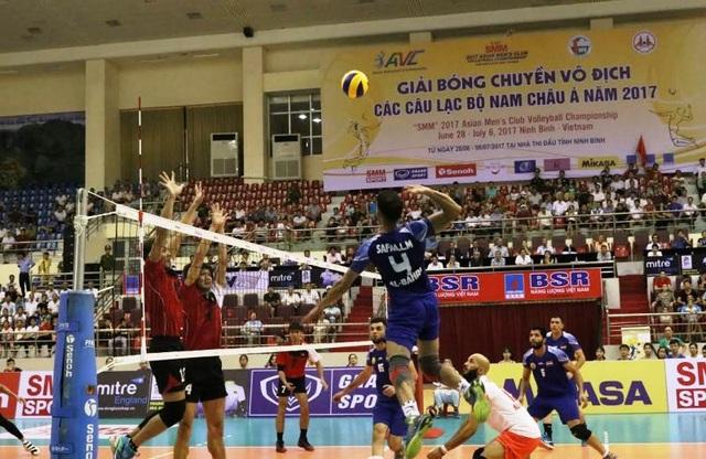 Khởi tranh giải bóng chuyền vô địch các CLB nam châu Á năm 2017 - 4