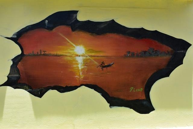 Khám phá làng bích họa của sinh viên ở xã đảo Tam Hải - 5