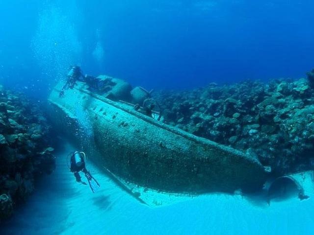 Nói gì thì nói, những xác tàu đắm ở Bermuda ngày nay đang trở thành địa điểm khám phá nổi tiếng của những người ưa thích môn lặn biển