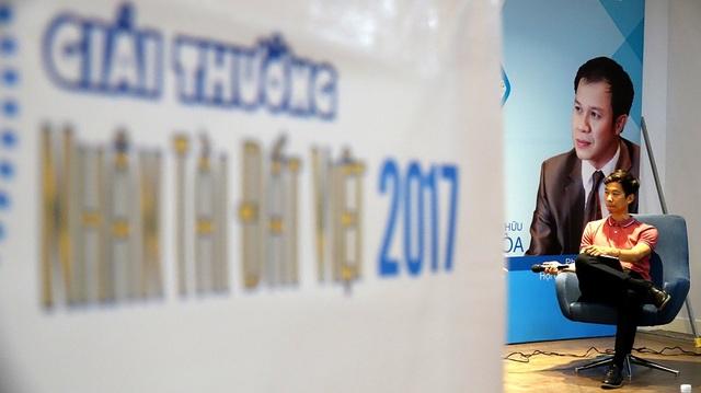Anh Lê Công Thành dành những chia sẻ về Startup cho giới trẻ