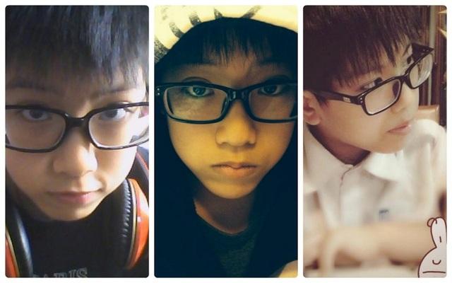 Minh Hiếu đẹp trai ngay từ khi còn nhỏ