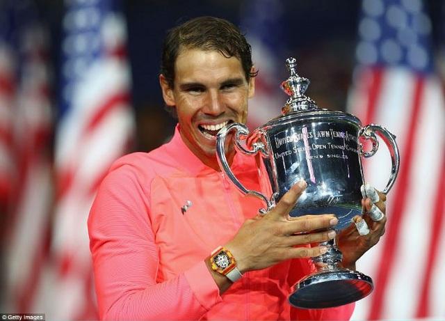Nadal vô địch US Open 2017
