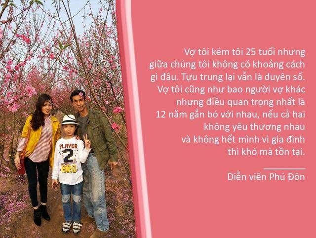 Xem thêm: Nghệ sĩ Phú Đôn tiết lộ bí quyết lấy vợ trẻ và làm bố ở tuổi 55