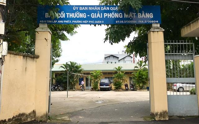 Sau khi nhận chỉ đạo từ Chủ tịch UBND Q.9, với cách nhìn vụ việc thấu đáo và trực tiếp theo sát từ đầu, Ban Bồi thường giải phóng mặt bằng Q.9 đã có văn bản gửi UBND quận báo cáo về việc giải quyết đối với mẹ con Phan Thúy Uyên.