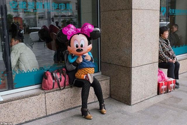 Em bé Minnie Mouse.