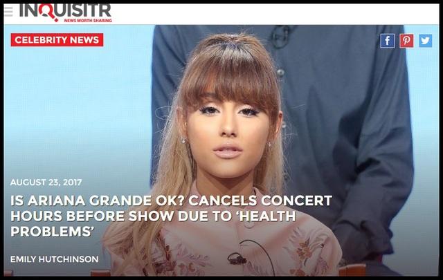Truyền thông và công chúng Mỹ lo lắng cho Ariana Grande - 7