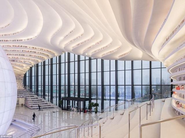 Thư viện này được hoàn thành sau 3 năm xây dựng và hiện đã được đưa vào sử dụng.