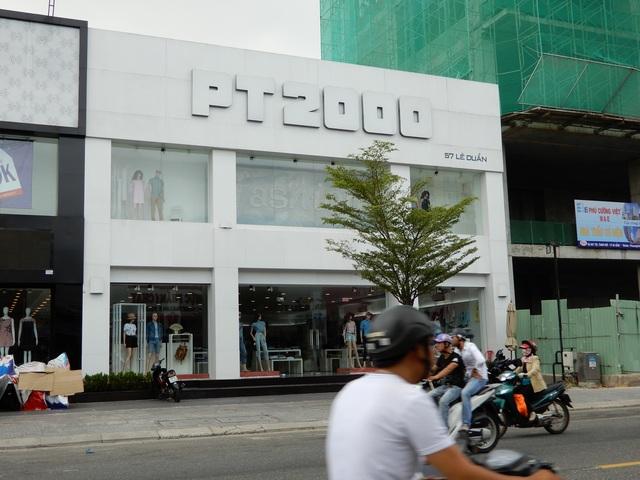 Nhà 57 Lê Duẩn nay là nơi kinh doanh quần áo